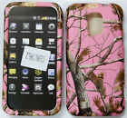 ZTE Majesty Source N9511 - Z796C PINK MOSSY CAMO TREE REAL OAK HARD CASE COVER