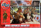 14 Airfix 1/32 unpainted plastic WWII Japanese toy soldiers Mint Box No Reserve
