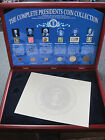 MORGAN MINT COMPLETE PRESIDENTIAL COIN COLLECTION DISPLAY CASE *PLEASE READ*