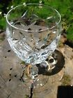 Antique Cut Crystal Water Goblet Set of 6 Perfect Condition Free Shipping Wine