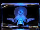 3D LASER CRYSTAL LOONEY TUNES YOSEMITE SAM +Light Base