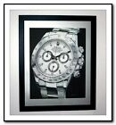 ROLEX STAINLESS DAYTONA  * POSTER * - Signed personally by artist !!