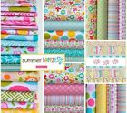 Summer Breeze by Riley Blake 18 Fat Quarter Bundle 100% Cotton by Bella Blvd