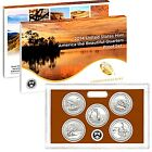 2014 S America the Beautiful National Parks Mint Clad Proof Set with Box