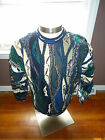 COOGI WEARABLE ART 3D SWEATER COSBY KIMMEL LOOM HOLIDAY LOUD UNIQUE RARE VINTAGE