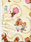 1916 & 1924 ~ MOTHER GOOSE NURSERY RHYME fabric mary lafetra russell vintage lk