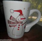 CALIFORNIA PANTRY 2010 CLASSIC CERAMICS MUG Mugs SNOWMAN CHRISTMAS  NEW