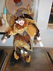 JESTER DOLL mardi gras dolls NEW ORLEANS DOLL ORNAMENT CHRISTMAS DECORATION GOLD