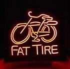 LD053 Fat Tire Beer Bar Pub Display LED Light Sign Hot New Gift Neon