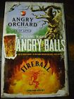 *NEW* SAM ADAMS Angry Orchard / Fireball Cinnamon Whiskey tin metal sign
