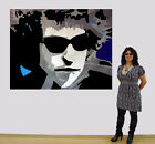 Bob Dylan Music Man by International Artist R. Litsey Rock and Roll, Painting