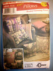 Simplicity HOME DECORATING Pillows Beaded Trimming Pizazz Pattern 5685 UNCUT