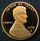 2010 S Lincoln Shield Cent Penny Gem Proof Deep Cameo