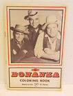 BONANZA 1960's TV WESTERN COLORING BOOK PREMIUM FROM PIONEER CHEVROLET WAYNE, PA