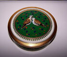MIKASA TWELVE DAYS OF CHRISTMAS TWO TURTLE DOVES PORCELAIN COVERED DISH 1999