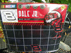 NIP NASCAR 8 DALE JR. Black with Gray Square Full Bedskirt ~ Great Gift  ~