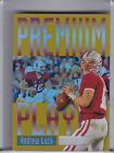 2013 UPPER DECK RETRO PP12 ANDREW LUCK PREMIUM PLAYER SP INDIANAPOLIS COLTS A134