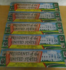 5 boxes full set of Vintage original unpainted Marx 60mm Presidents No Reserve
