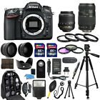 Nikon D7100 Digital Camera + 18 55mm + 70 300mm + 30 Piece Accessory Bundle