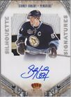 SIDNEY CROSBY 2011-12 PANINI CROWN ROYALE SILHOUETTE AUTOGRAPH AUTO PATCH 25