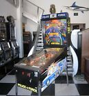 POLICE FORCE PINBALL MACHINE BY WILLIAMS ~ SHOPPED w NEW PLASTICS & RAMPS ~SUPER