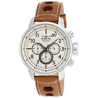Invicta Men's S1 Rally Chronograph Brown Leather Strap Watch 16009