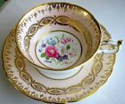 Paragon Fancy Summer Flowers Fine Bone China Cup And Saucer HANDPAINTED, 1950s