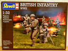 15 Revell 1/32 unpainted plastic WWII British toy soldiers in Box