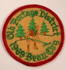 1969 BSA Boy Scouts Patch: Old Portage District 1969 Beau Coy - New, Mint!  OHIO