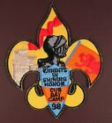 BSA Boy Scouts PATCH 1998  Knights in Shining Honor Cub Day Camp 98 NEW!