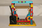 1950's Windup Monkey and Dog Swing Toy, Yone Toys of Japan, Nice Original Works