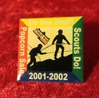 Boy Scout Enamel 2001-2002 Popcorn Sale Lapel Pin