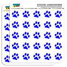Paw Print Blue 1 Scrapbooking Crafting Stickers