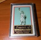 Vintage Statue of Liberty Souvenir of New York Plastic Coated Playing Cards NEW