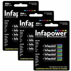 Infapower B001 Rechargeable AAA Ni-MH Batteries 650mAh (3 Packs)