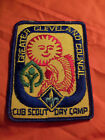 Cub Scout Day Camp Greater Cleveland Council BSA Patch