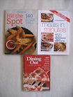 3 Weight Watchers Books Dining Out Companion Hit the Spot  Meals in Minutes
