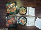 Russian Legend Fairy Tale Tianex Plates and Books Set COA