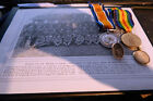 WW1 Medals J A Waygood 10th battalion London Regiment Hackney ,later Rifle Brig