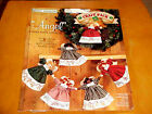 Christmas Angel Garland Dolls Fabric Daisy Kingdom 1996 Cut Stitch Stuff Sew