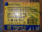 (RR11-4) 1 USED SQUARE D 9070T75D1 INDUSTRIAL CONTROL TRANSFORMER