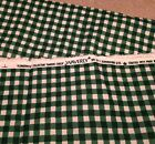 Waverly Flowerpatch Collection Garden Check Green White 6 yds Fabric 228