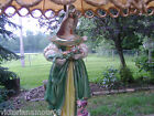 ANTIQUE VICTORIAN PORCELAIN FIGURINE LAMPS FROM ITALY.