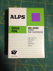 Alps MD Series Printer Ink Cartridge Gold Foil 105148 00 MD 5000 NEW