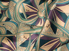 EMILIO PUCCI FIRENZE MADE IN ITALY PURE SILK PANEL FOR SCARF OR SHIRT CM 200X140