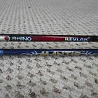 Rhino Kevlar fishing rod and Shakespeare Mantis fishing rod (lot#3755)