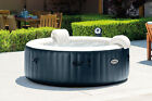 Intex Pure Spa 6 Person Inflatable Portable Heated Bubble Hot Tub Model 28409E