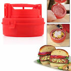Stuffed Burger Press Hamburger Grill BBQ Patty Maker Juicy Cooking Tool FE