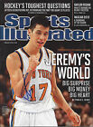 Jeremy Lin autographed auto signed Sports Illustrated February 27, 2012 No Label