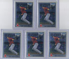 WILL MIDDLEBROOKS 2010 Bowman Chrome (5) card ROOKIE LOT #BCP179